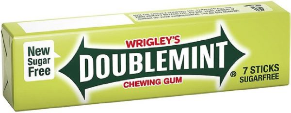 Wrigley's Gum - Doublemint 7 stick REDUCED TO CLEAR